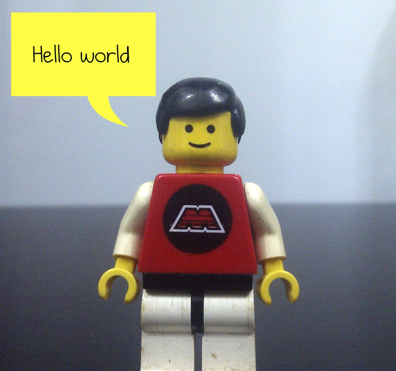 Hello World Lego