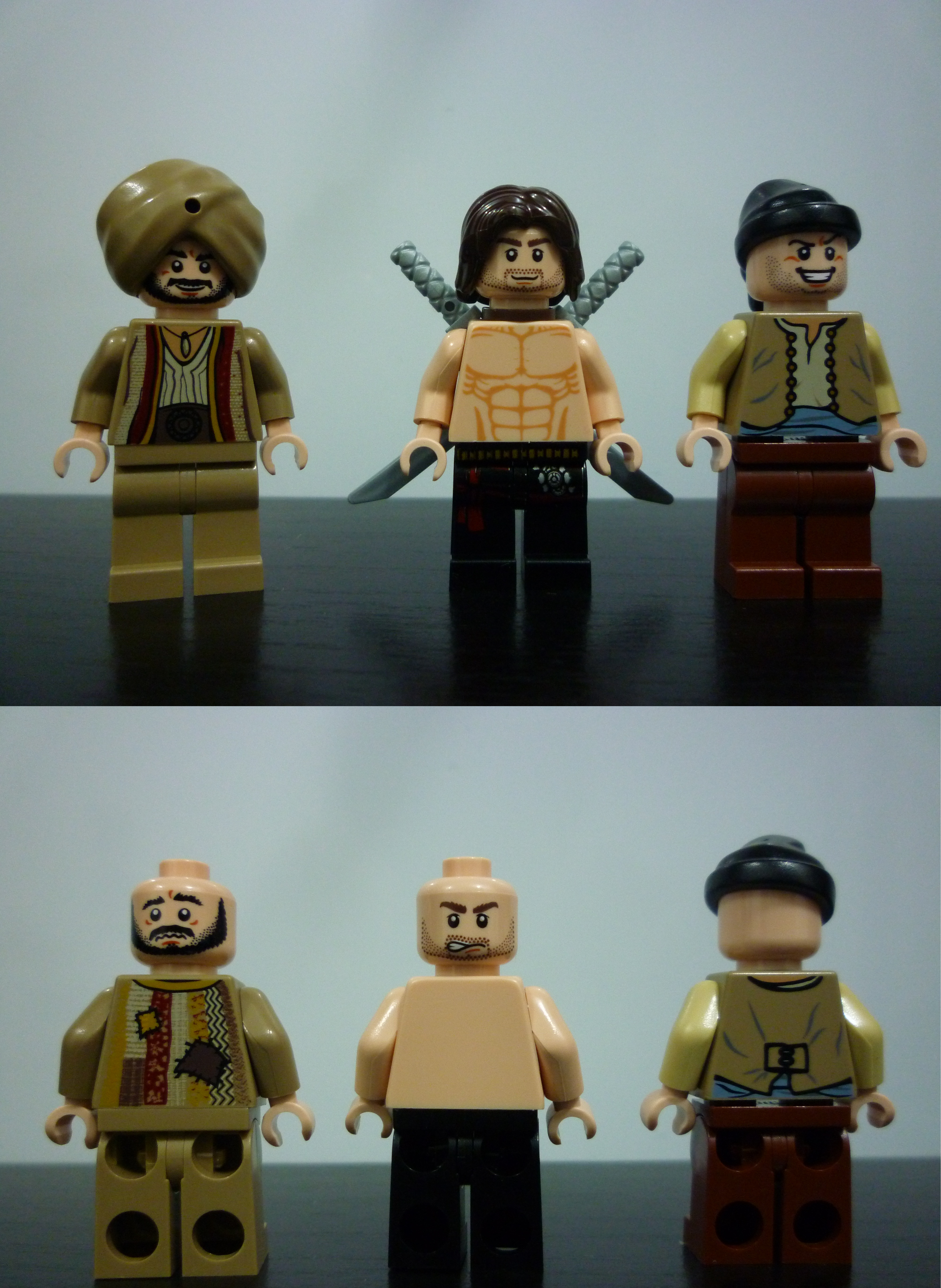 Lego Mini Figure Prince Of Persia Ostrich 7570 Loose