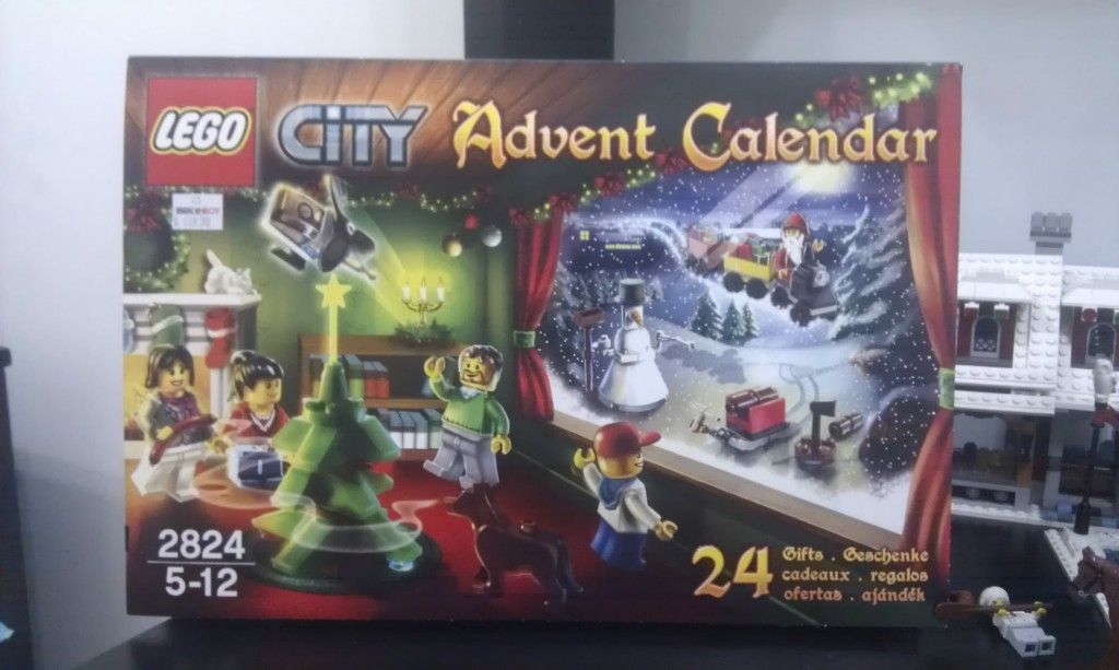 Lego City Advent Calendar 2010