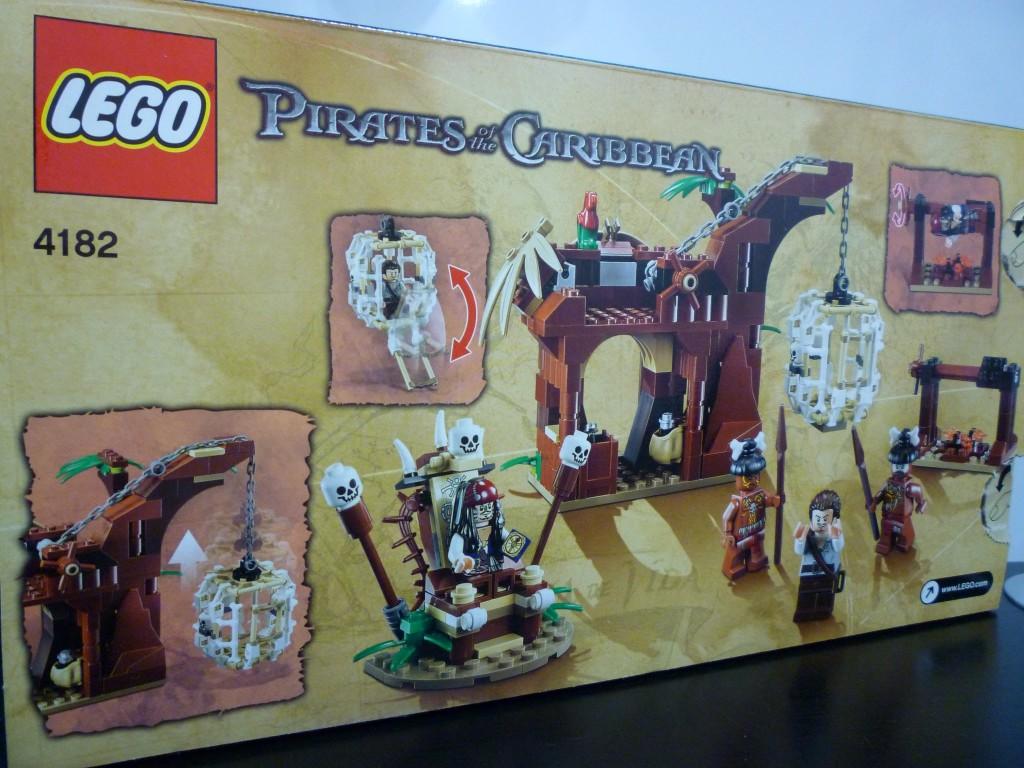 Lego 4182 The Cannibal Escape (2)