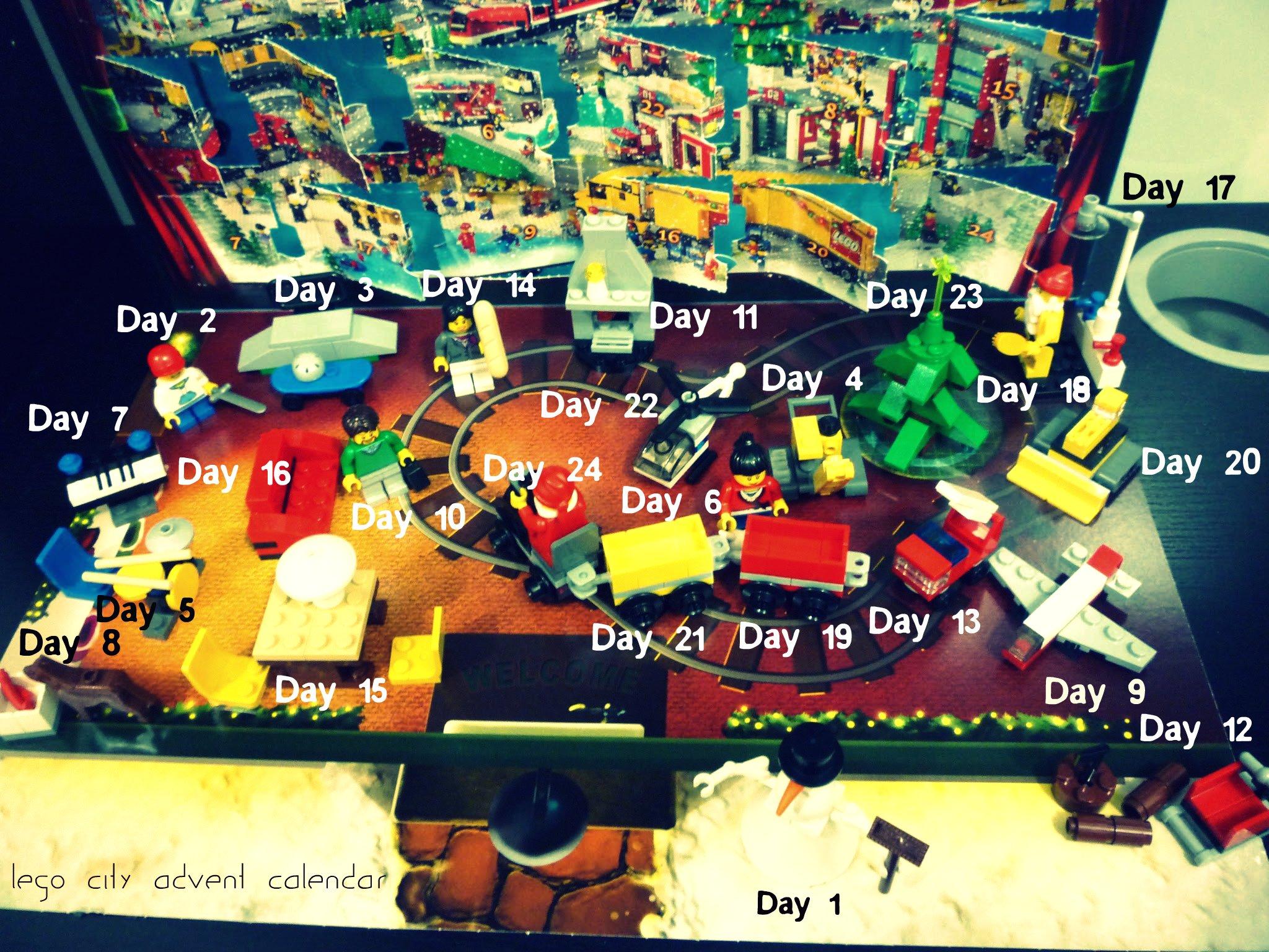 Lego City Advent Calendar 2010 Wrap Up Jay S Brick Blog