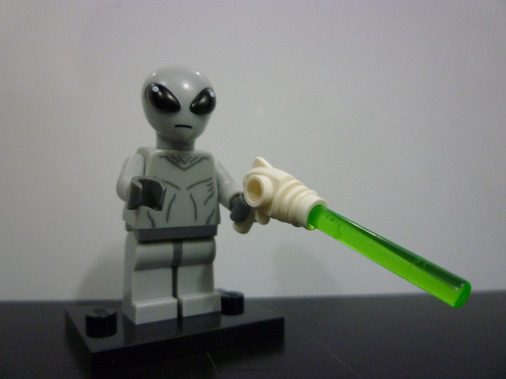 Lego Minifigures Series 6 -  Alien