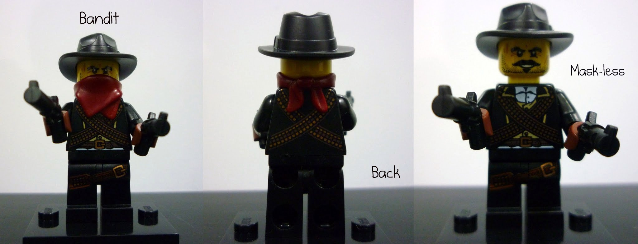NEW LEGO MINIFIGURES SERIES 6 8827 Bandit