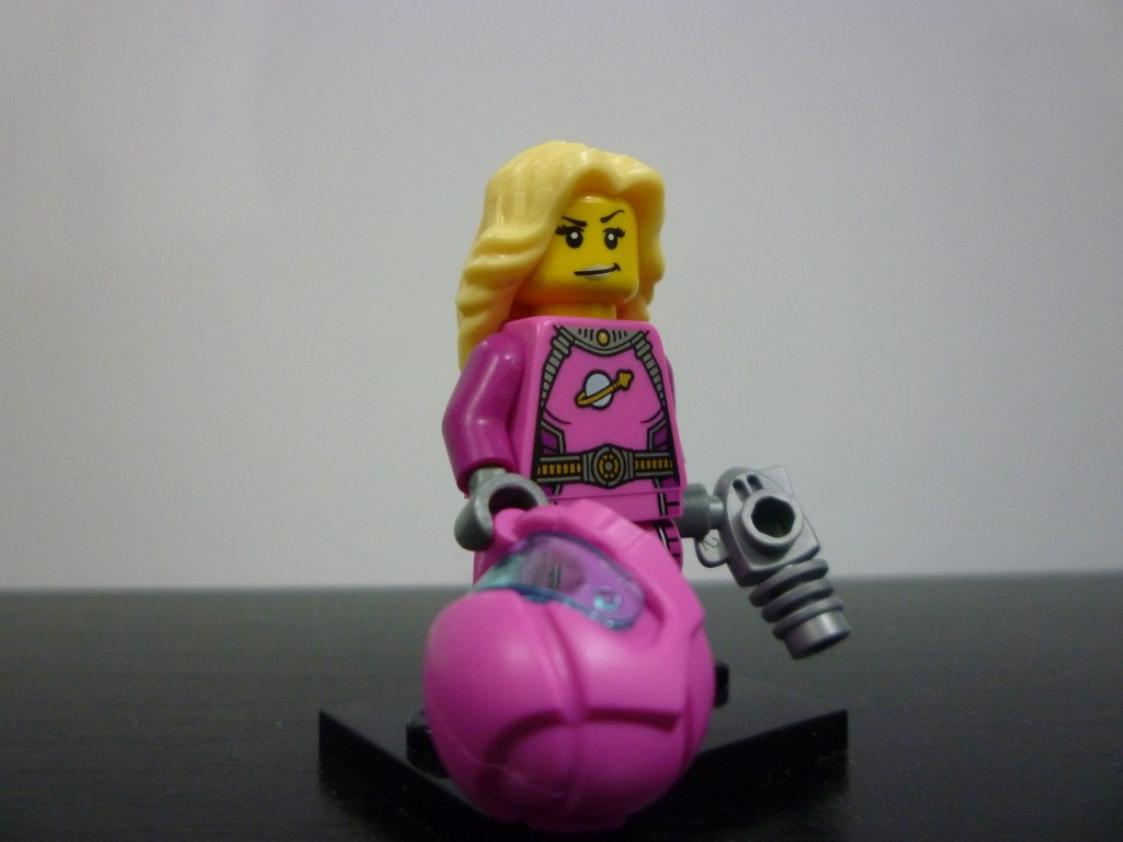 Lego Minifigures Series 6 - Intergalactic Girl Without Helmet