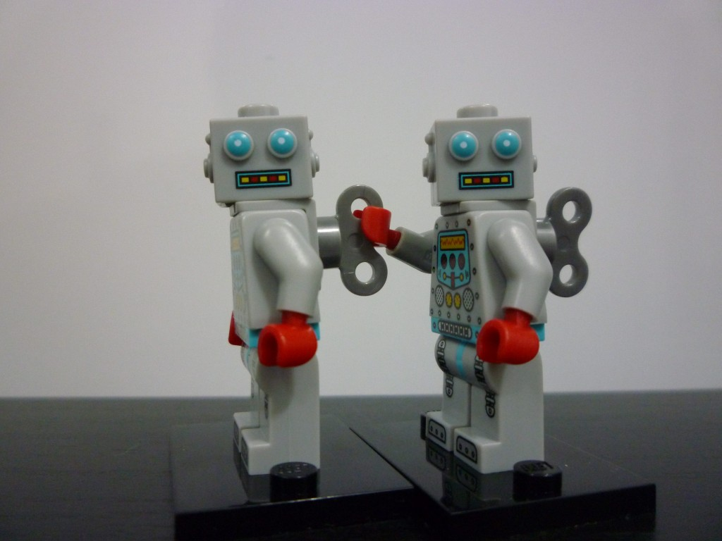 Lego Minifigures Series 6 -  Robots Playing