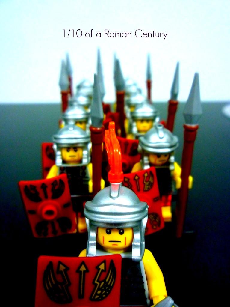 Lego Minifigures Series 6 - Roman Soldier Legion