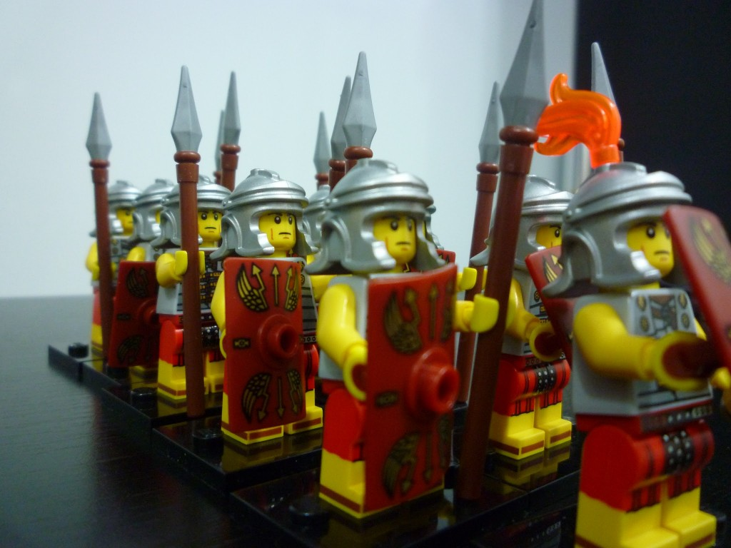 Lego Minifigures Series 6 - Roman Soldier Marching