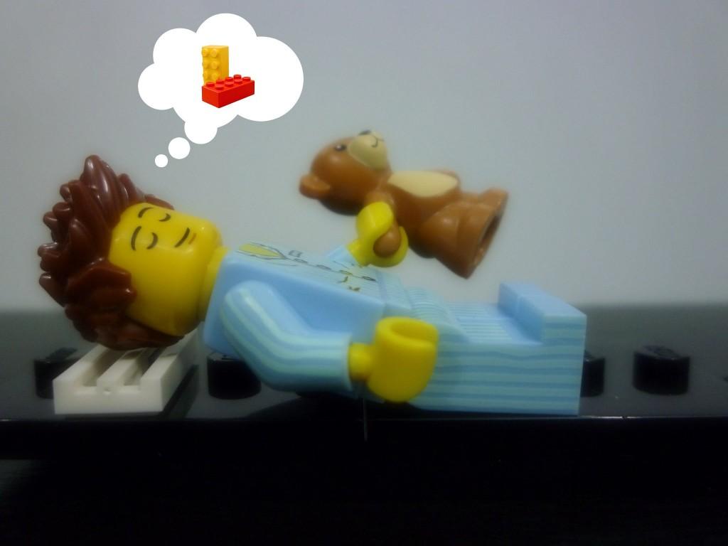 Lego Minifigures Series 6 - Sleepyhead Dreaming