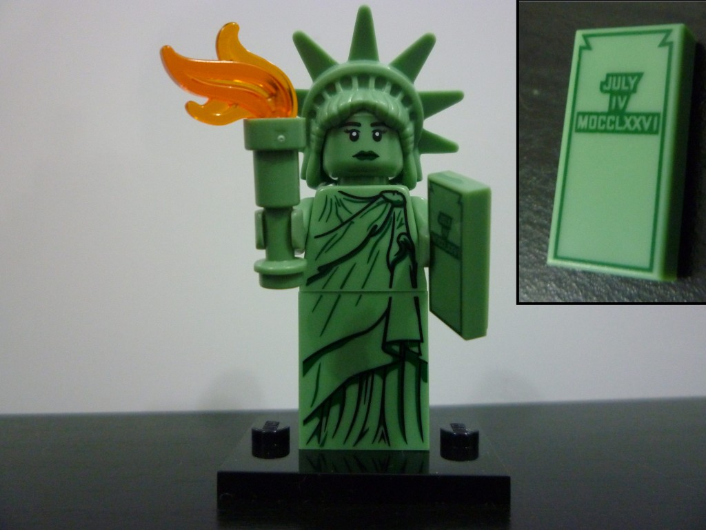 Lego Minifigures Series 6 -  Statue of Liberty