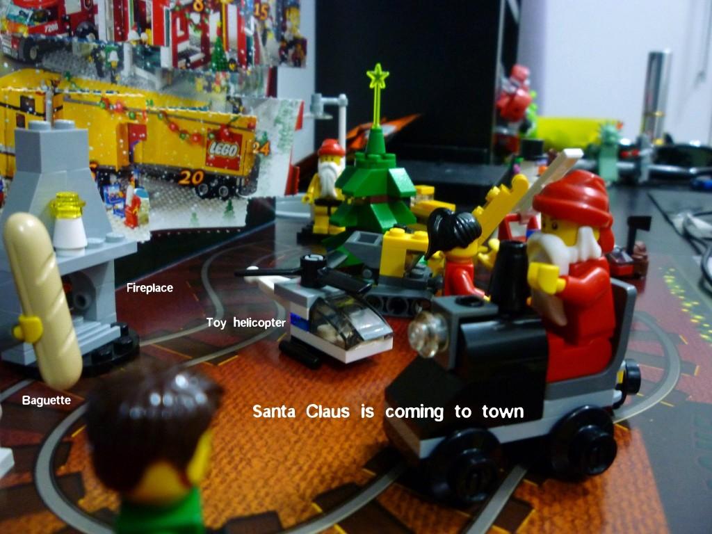 Lego City Advent Calendar 2010 Wrap Up!