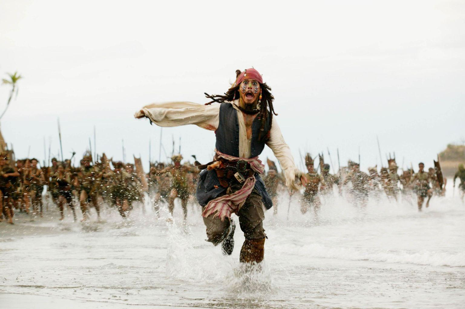 Image result for jack sparrow running