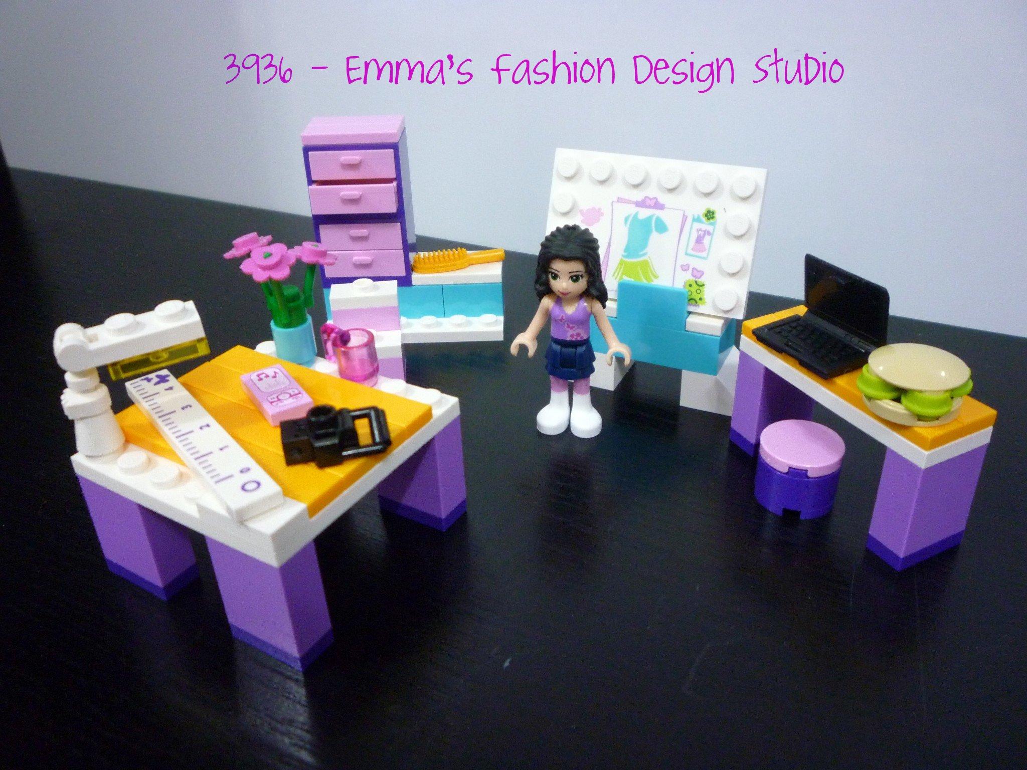Review 3936 Friends Emma S Fashion Design Studio Jay S Brick Blog