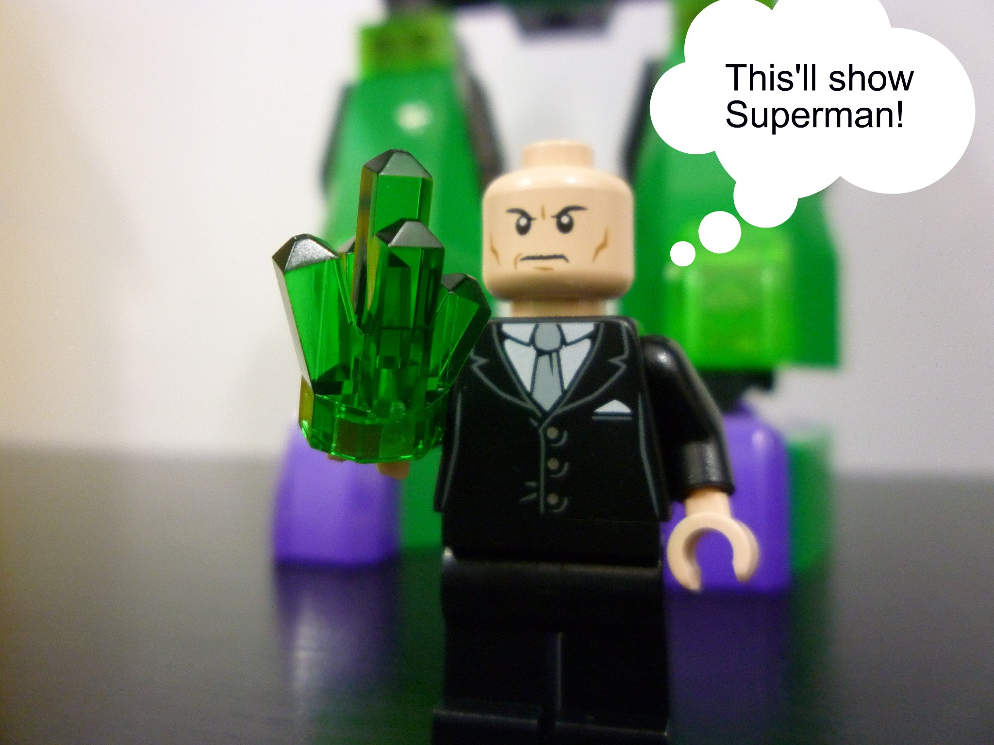 Review 6862 Superheroes Superman Vs Lex Power Armour Jay S Brick Blog