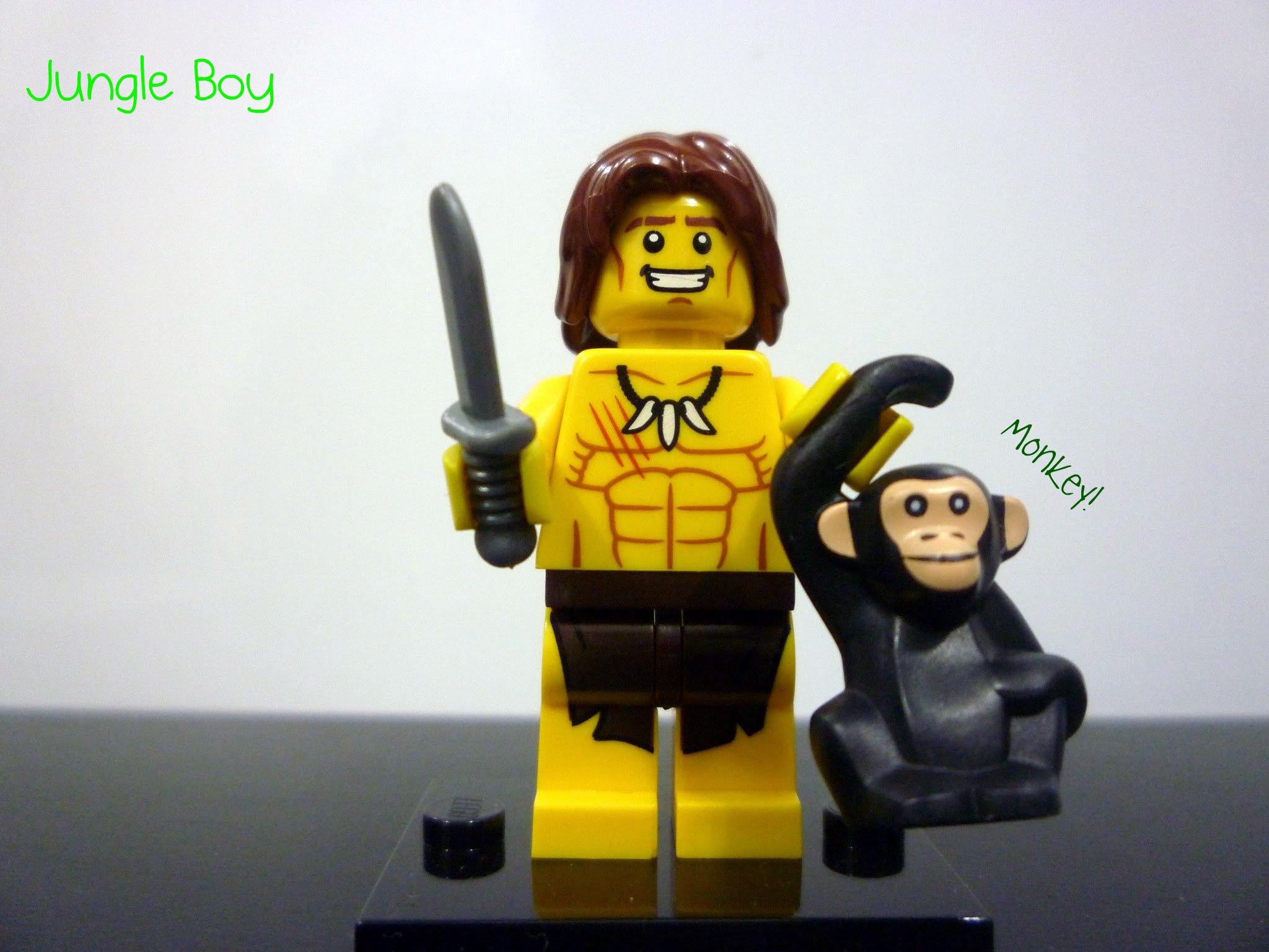 LEGO MINIFIGURE SERIES 7 JUNGLE BOY