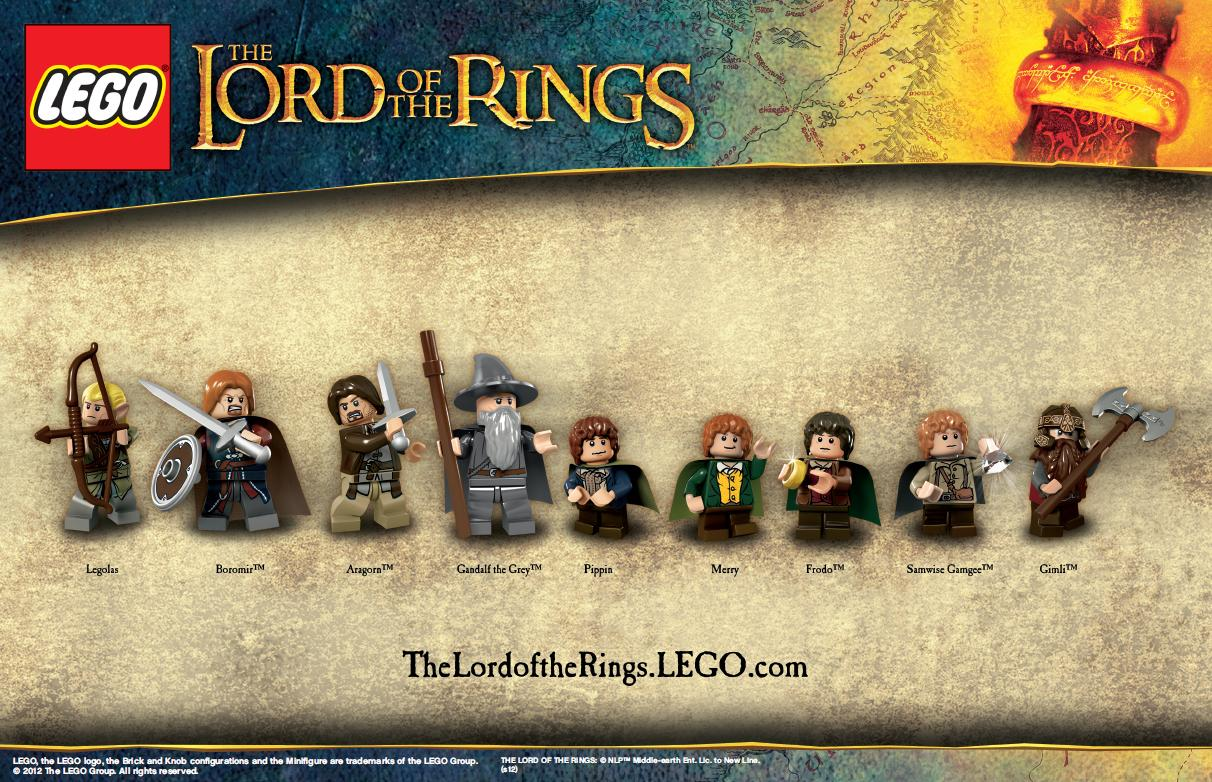 Hair piece from sets 9469 Lord of the Rings NEW Lego Frodo Baggins Head