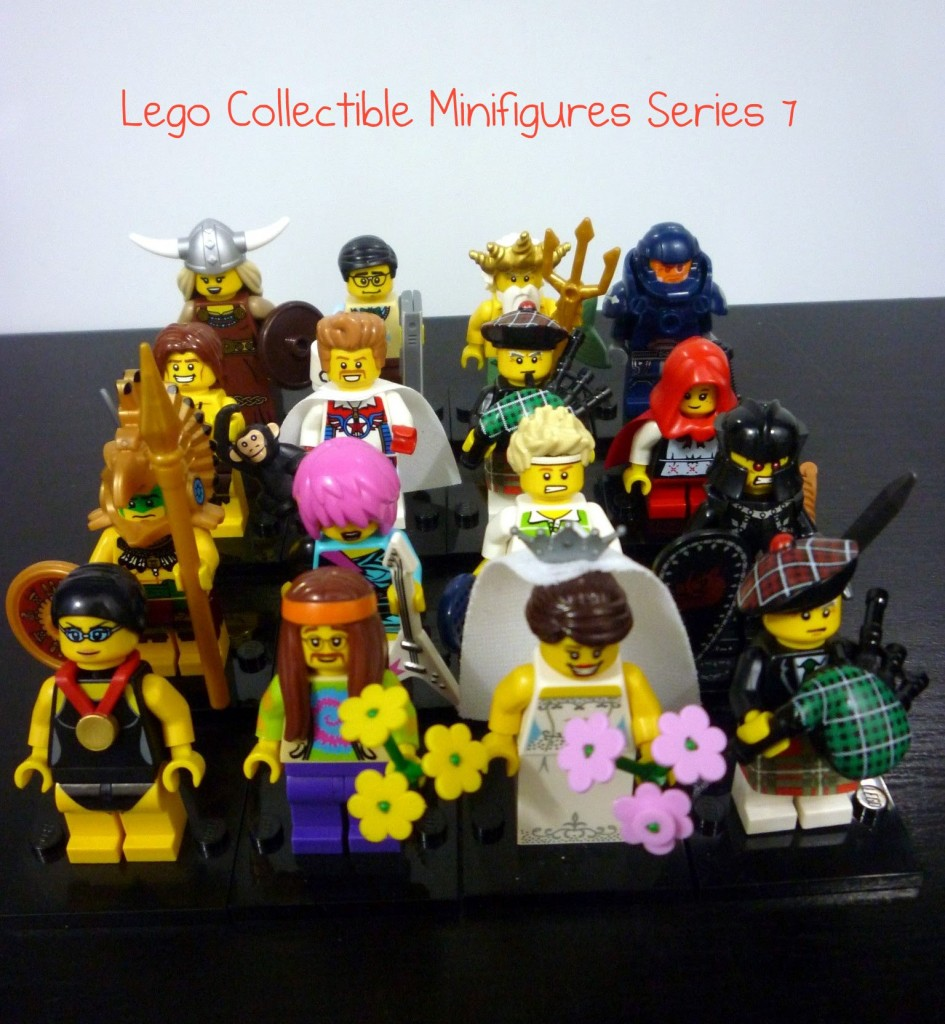 Lego Minifigures Series 7 Review Part 3