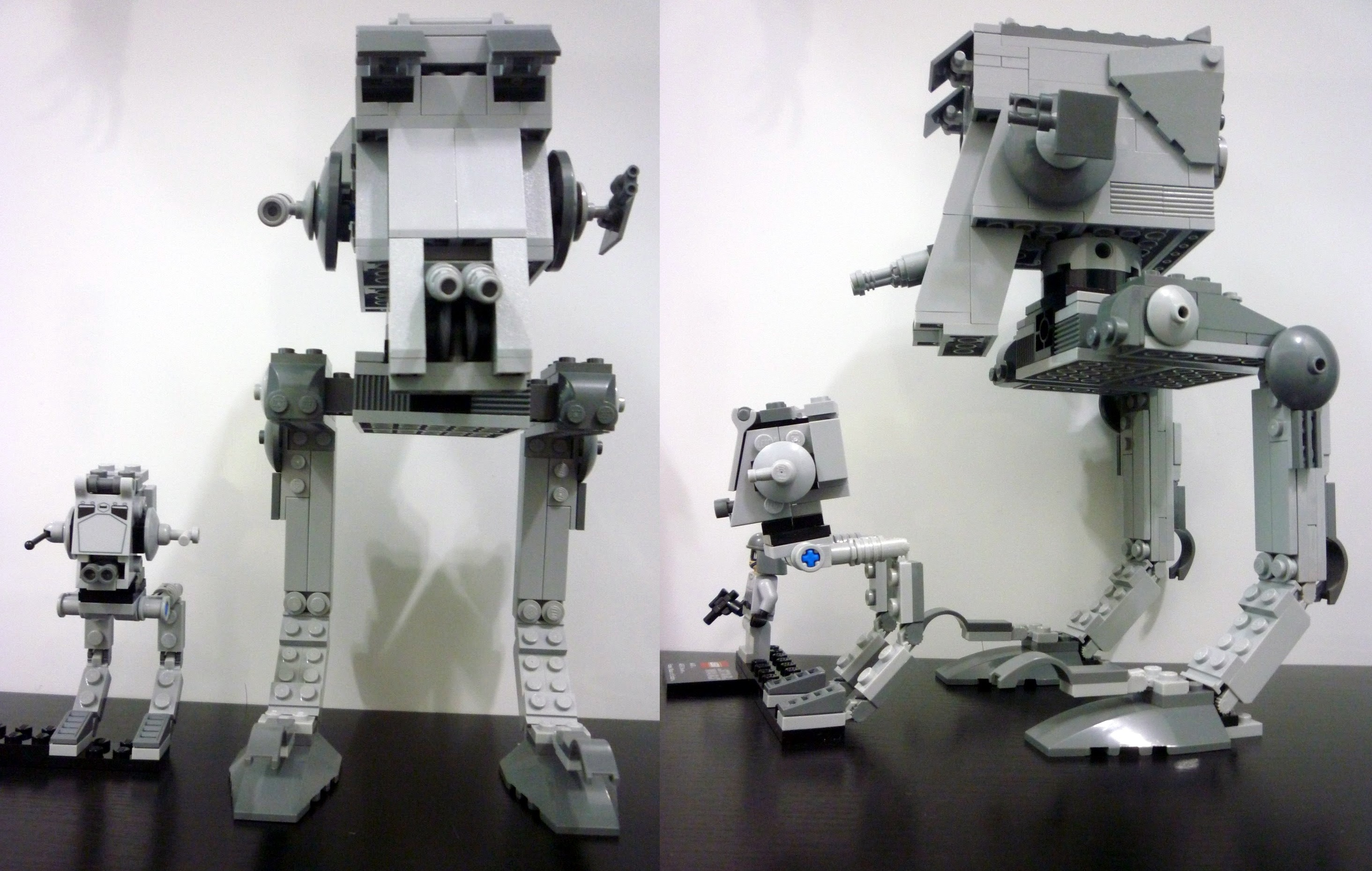 LEGO STAR WARS AT-ST BUILDING MANUAL ONLY 9679