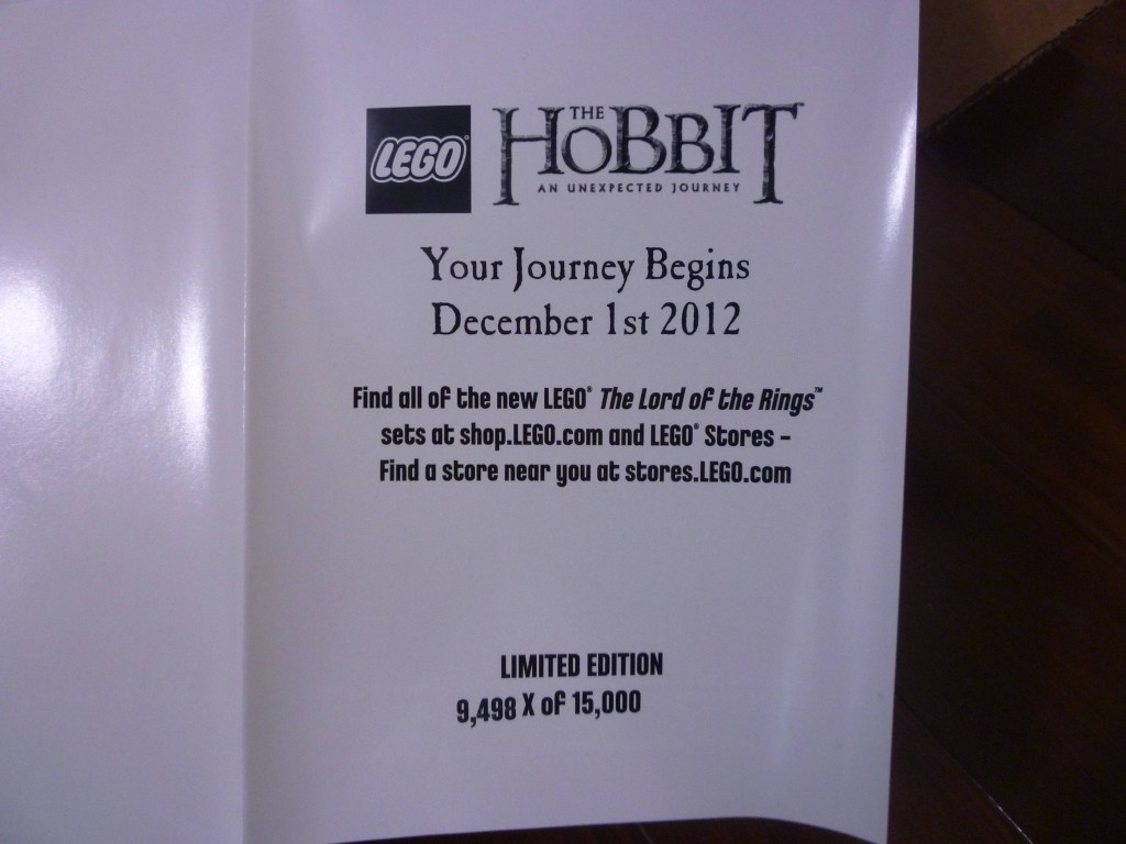 Lego The Hobbit set details emerge!
