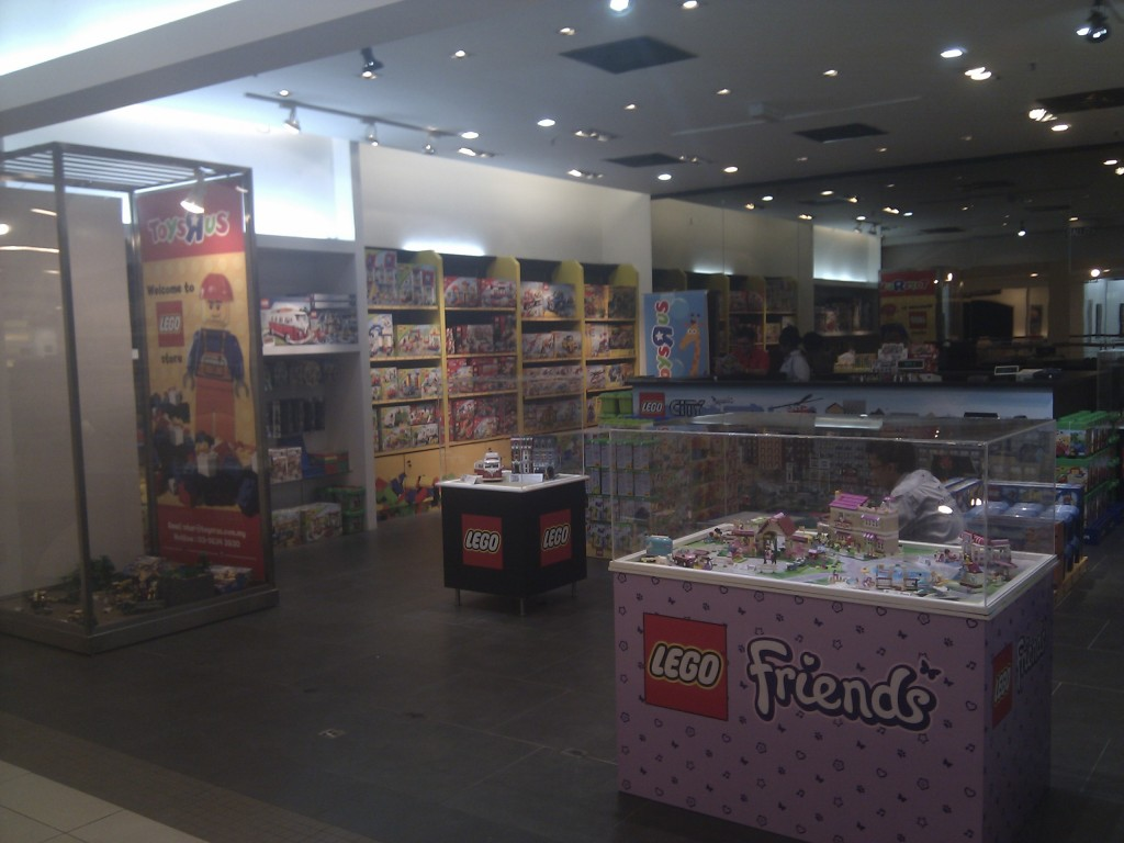 New Lego Store at Bangsar Village II