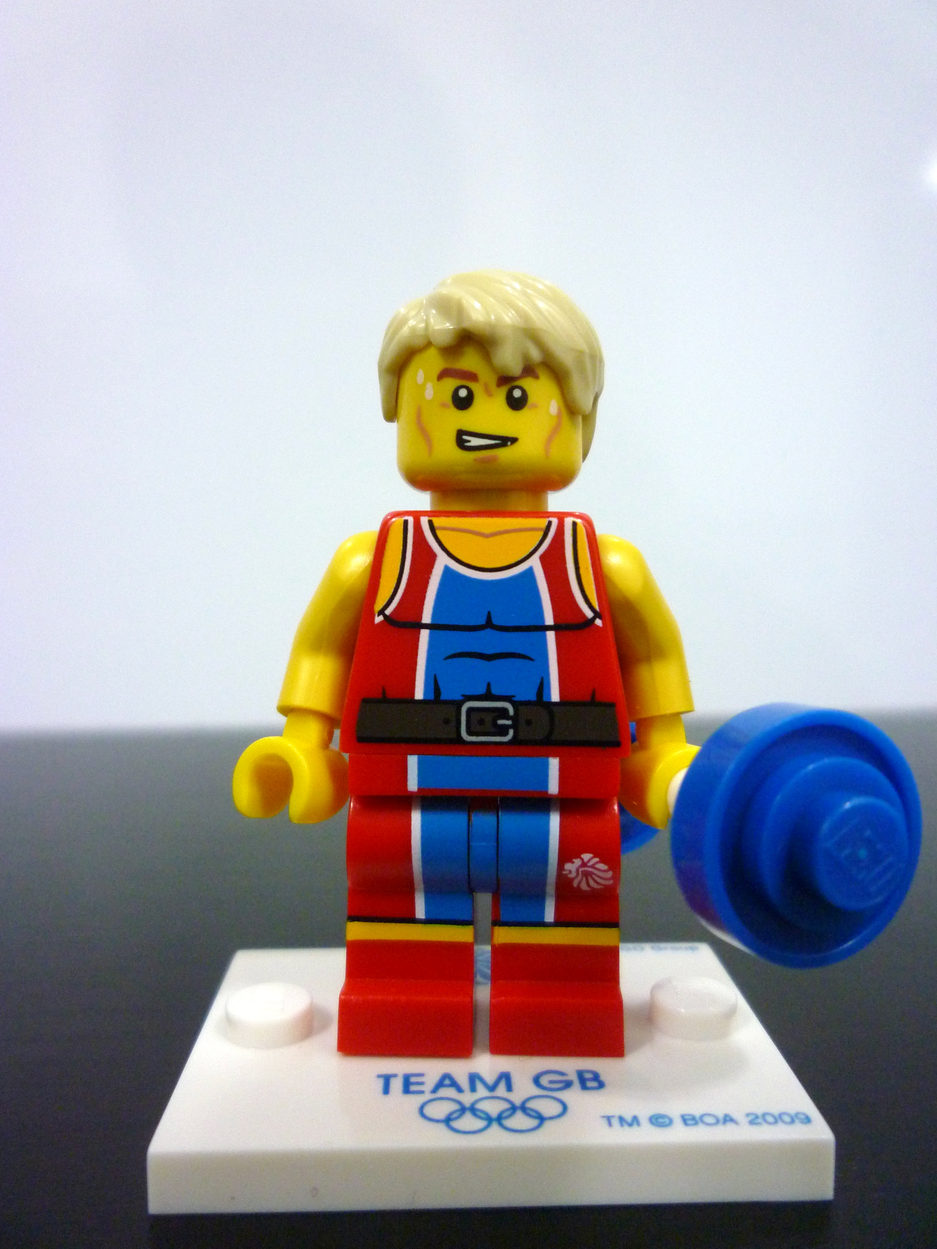 Judo Fighter | Set | Collectible Minifigures | Team GB