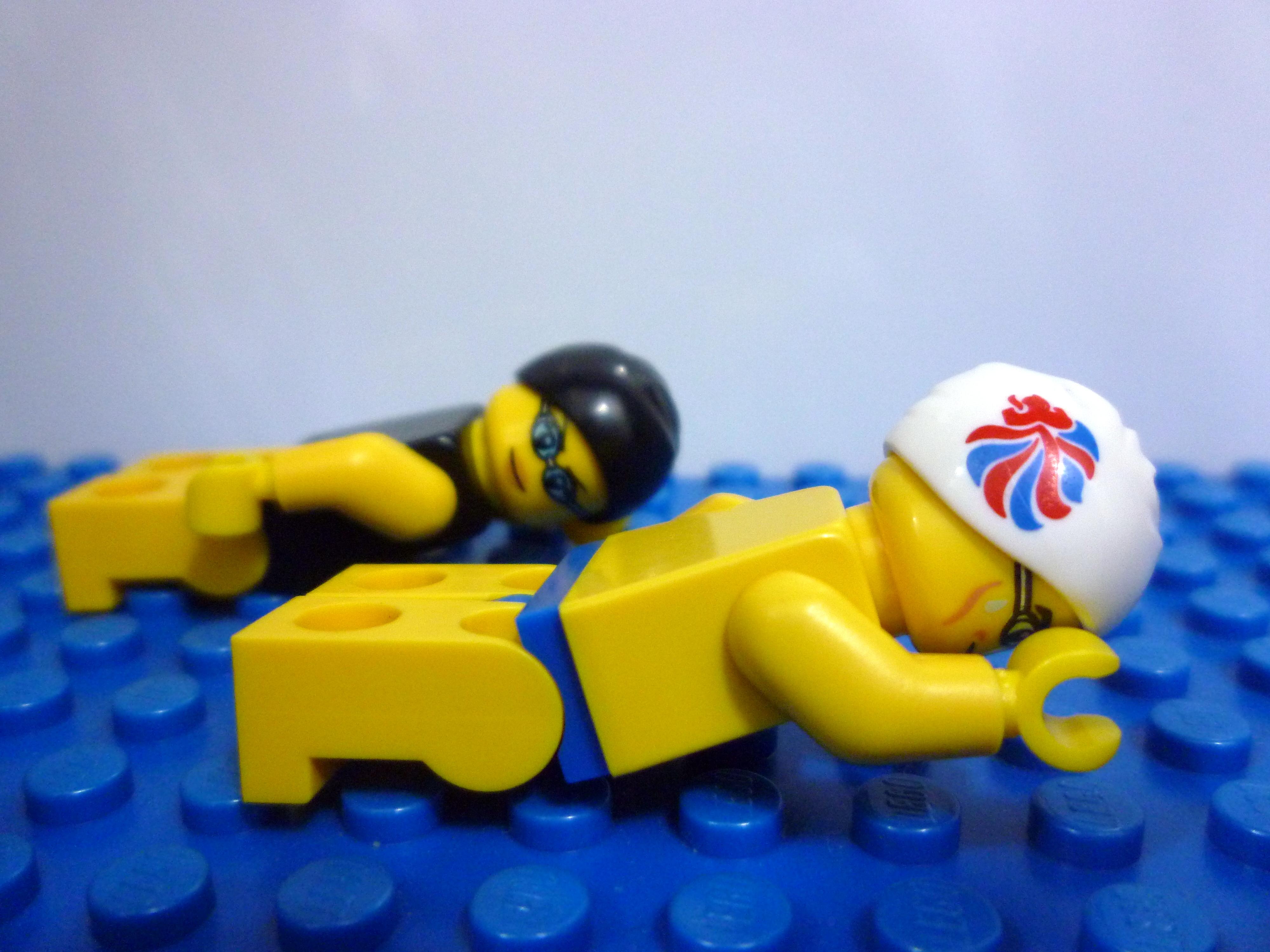 Lego Team Gb Minifigures Review