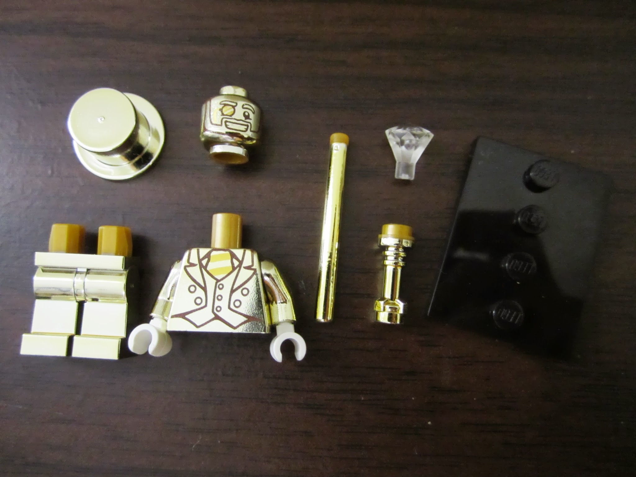 Lego mr gold 13