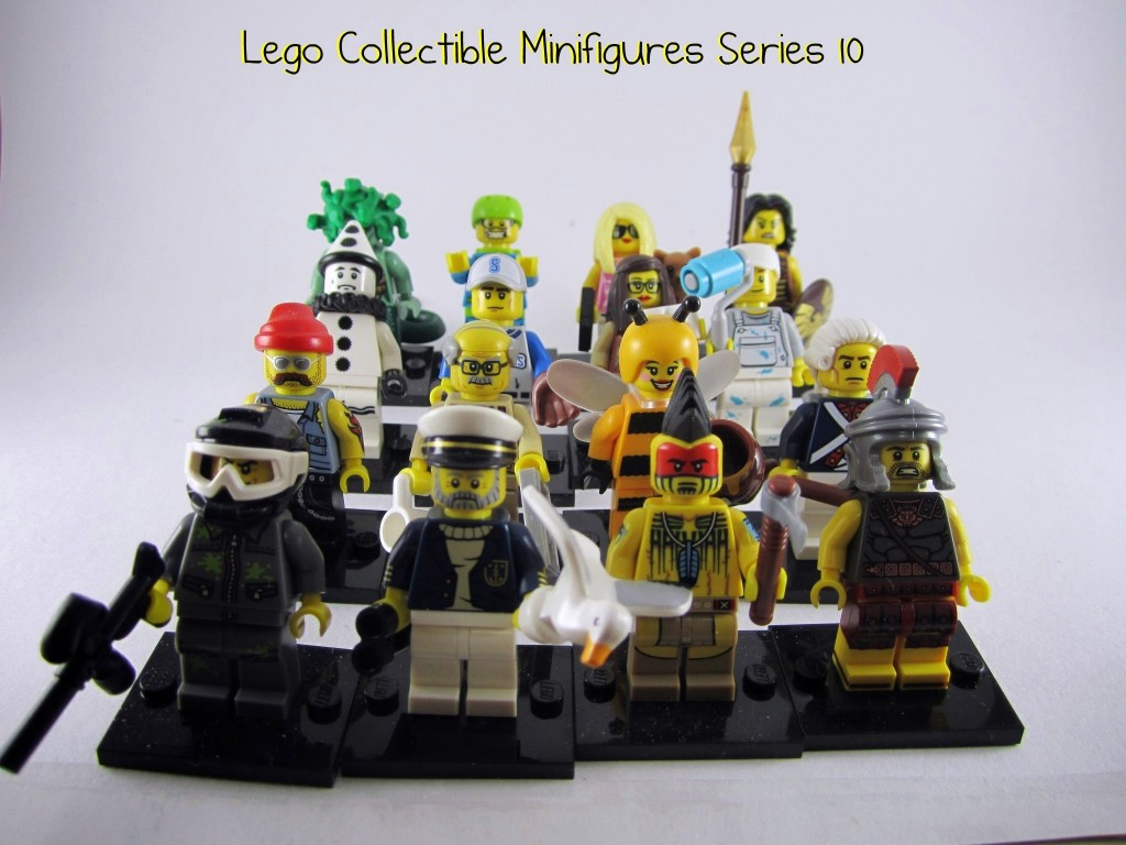 Lego Minifigures Series 10 Review Part 3