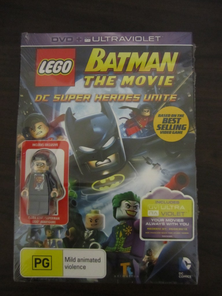 Review: Lego Batman The Movie Super Heroes Unite DVD