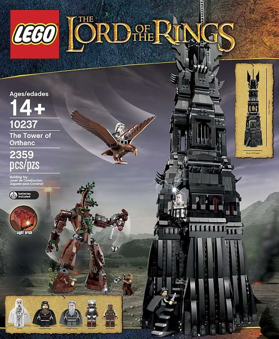 Review: Lego 10237 – The Tower of Orthanc