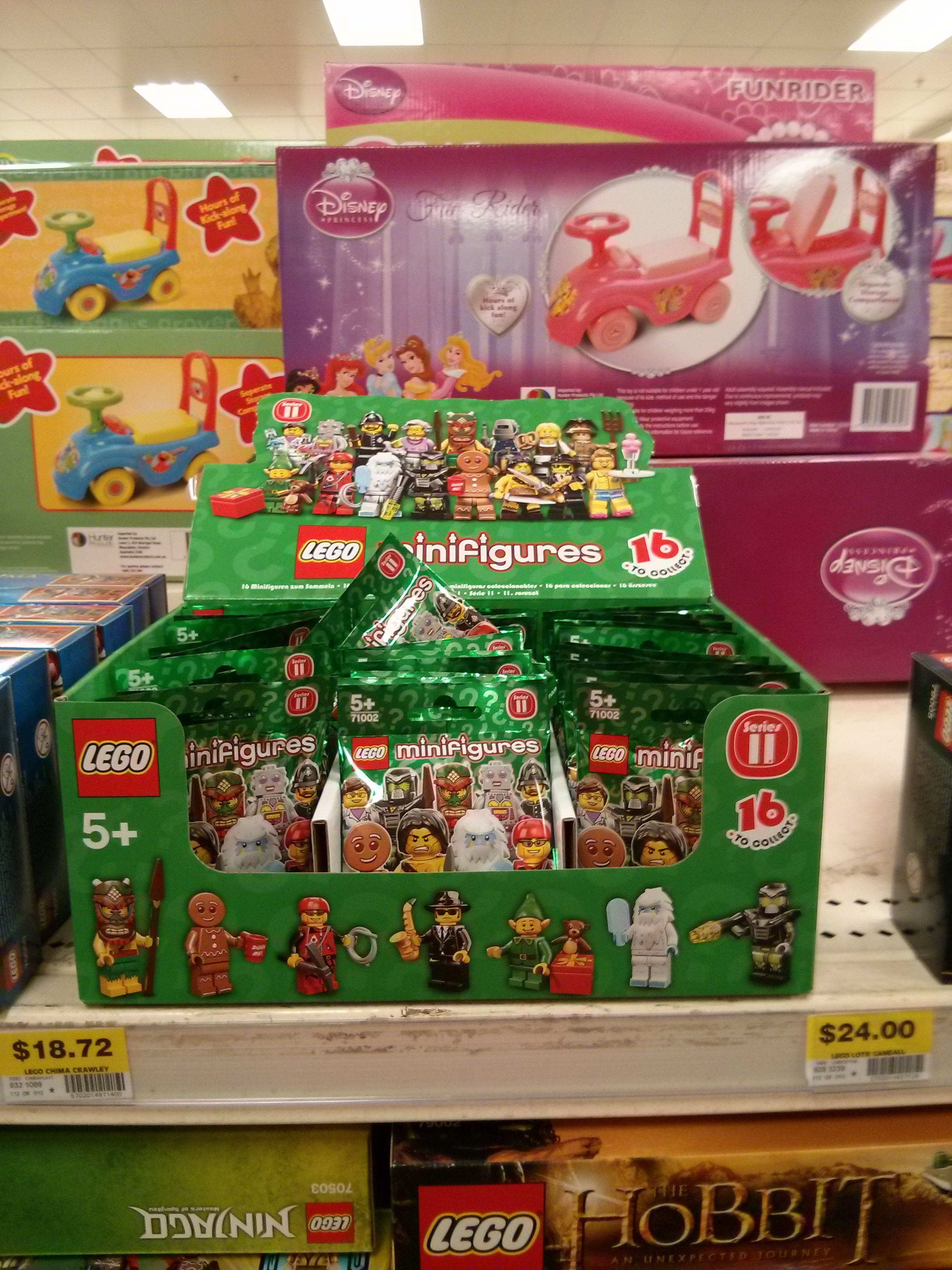 Lego Collectible Minifigures Series 11 Now On Sale In