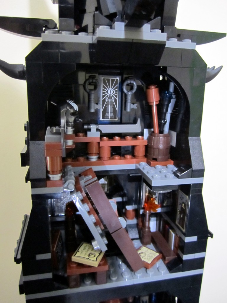 Lego Orthanc Attic