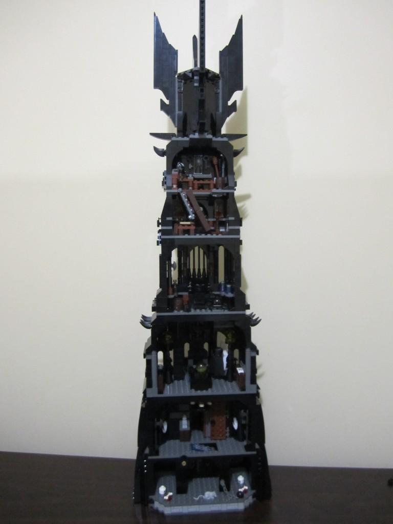 Lego Tower of Orthanc Back