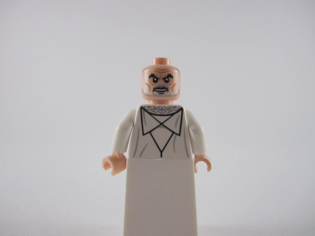 Lego Saruman Minifig Back