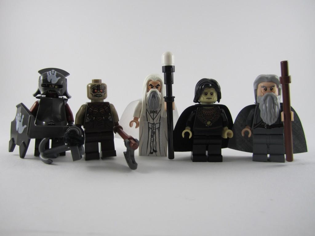Lego Orthanc Minifigs