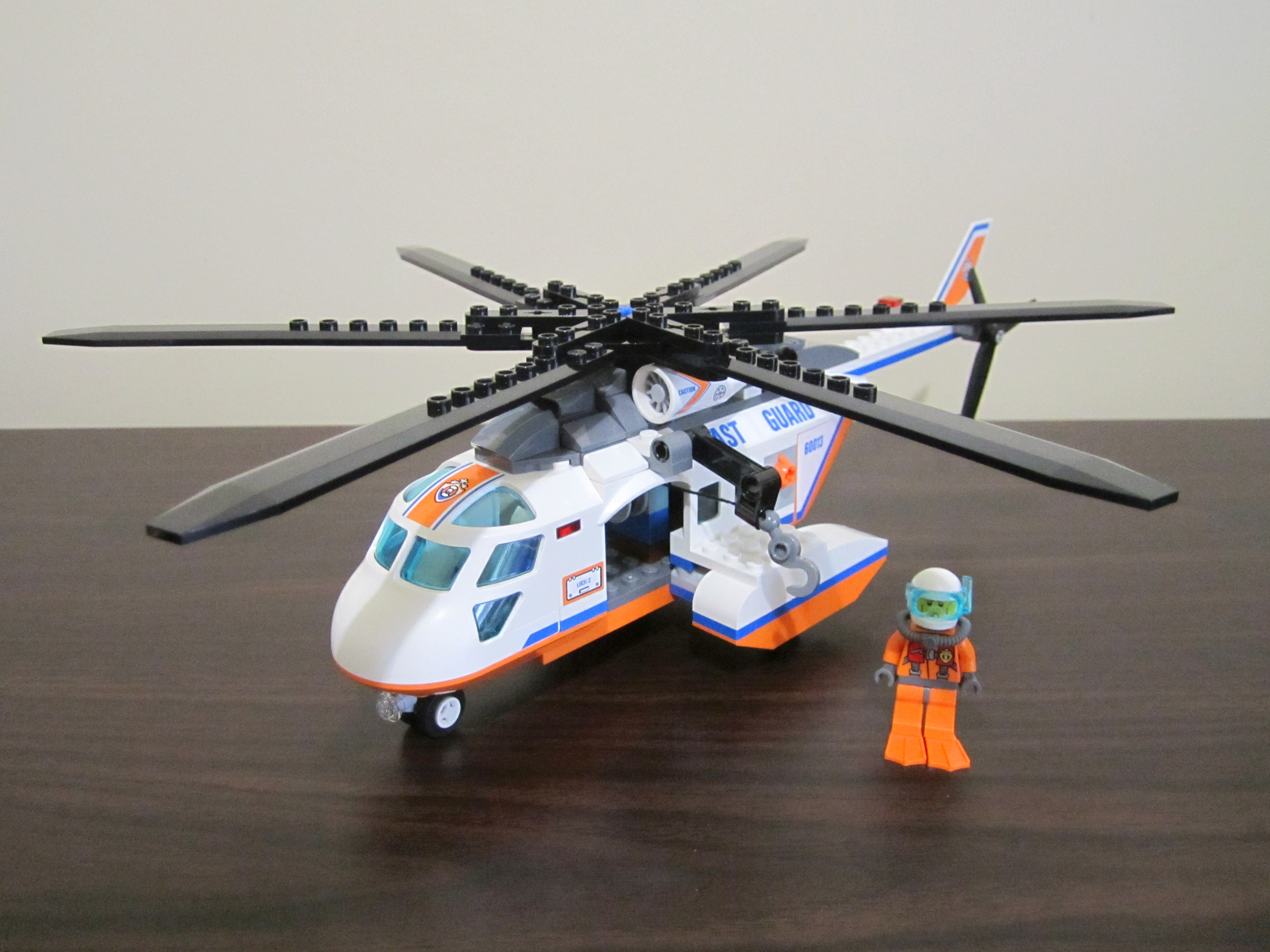 Review Lego 60013 Coast Guard Helicopter