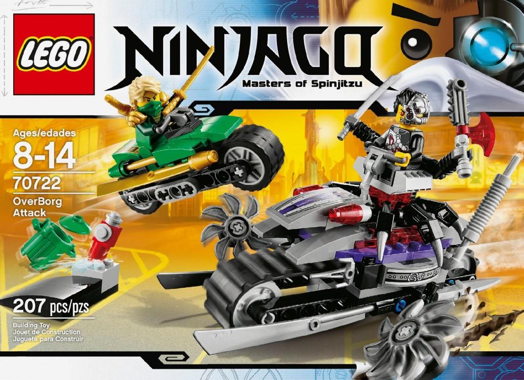 LEGO 70722 Ninjago OverBorg Attack Box