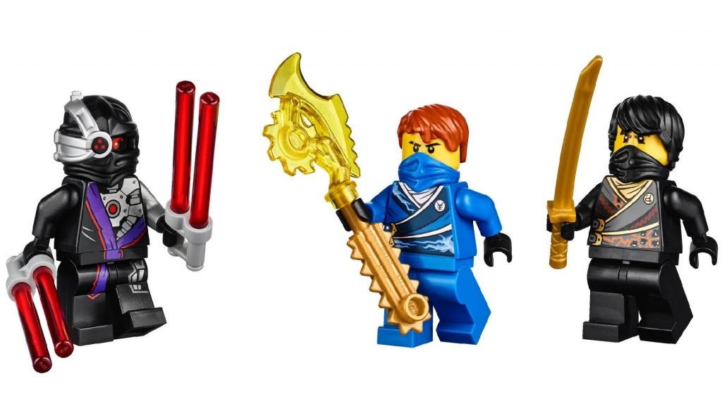 LEGO 70723 Ninjago Thunder Raider Minifigs