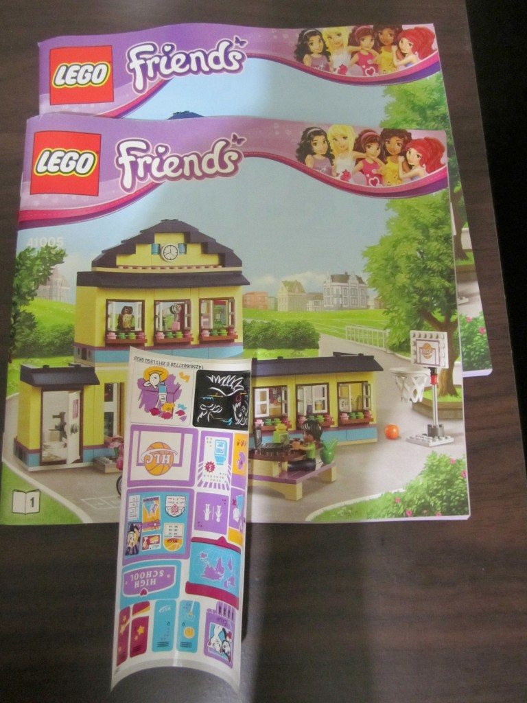 Lego 41005 - Heartlake High Instruction Manual