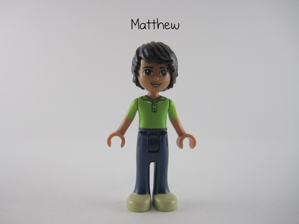 Friends Matthew Minifig