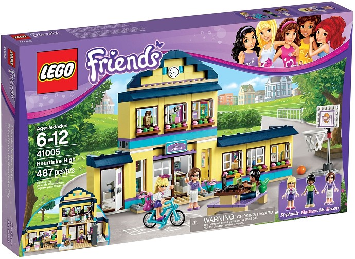 Lego 41005 Heartlake High Box