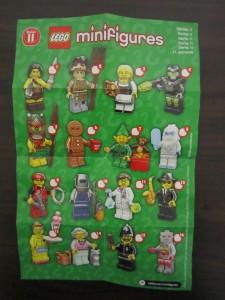 Lego Collectible Minifigures Checklist