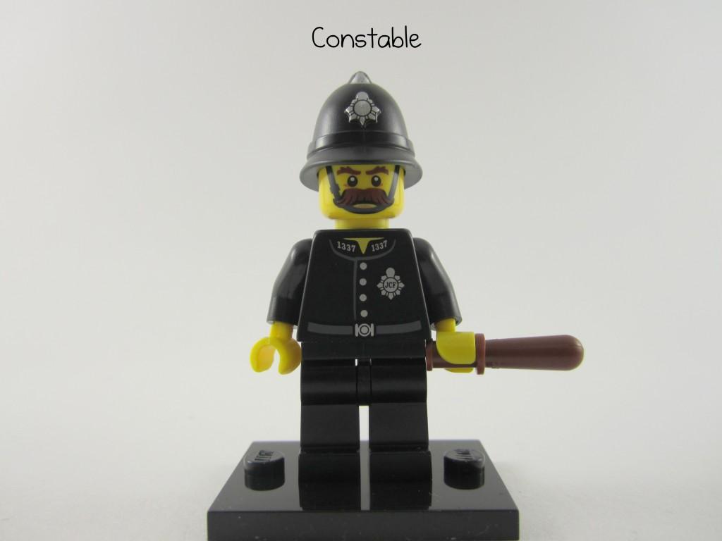 Lego Collectible Minifigures  Constable