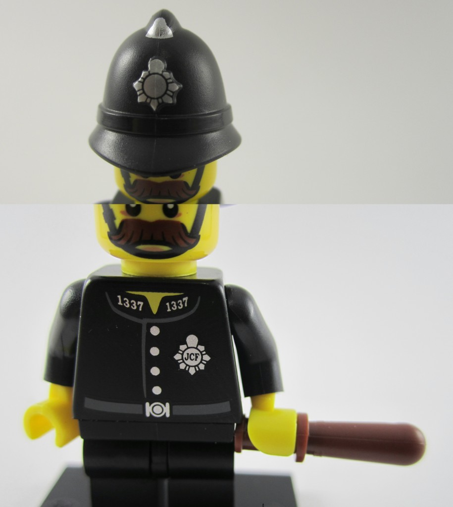 Lego Collectible Minifigures  Constable Hat