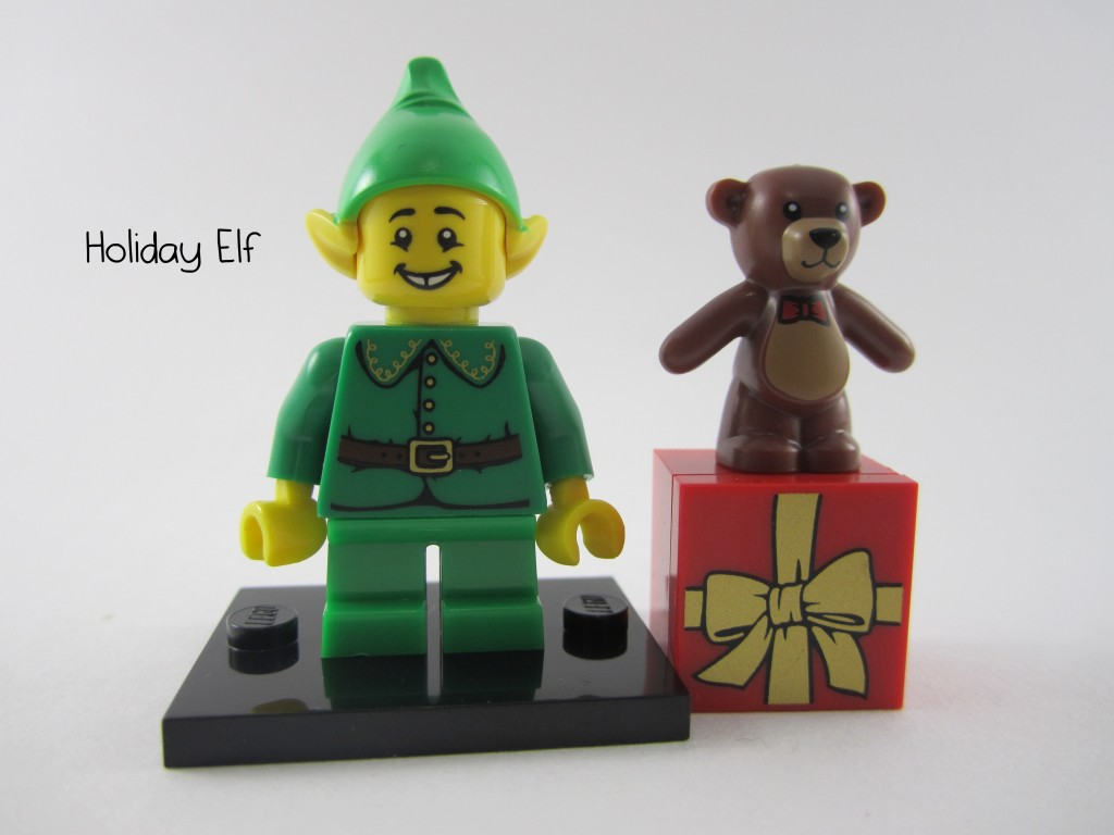 Lego Collectible Minifigures  Holiday Elf