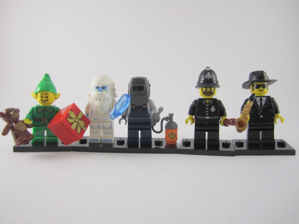 Lego Collectible Minifigures Lineup Part 1