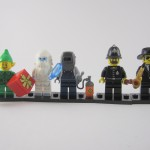 Lego Collectible Minifigures Lineup Part 1