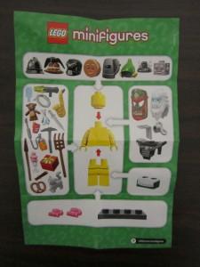 Lego Collectible Minifigures Manual