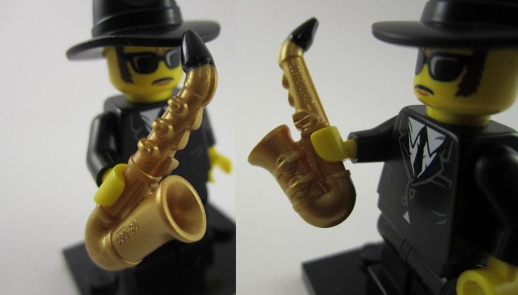 Lego Collectible Minifigures Saxophone