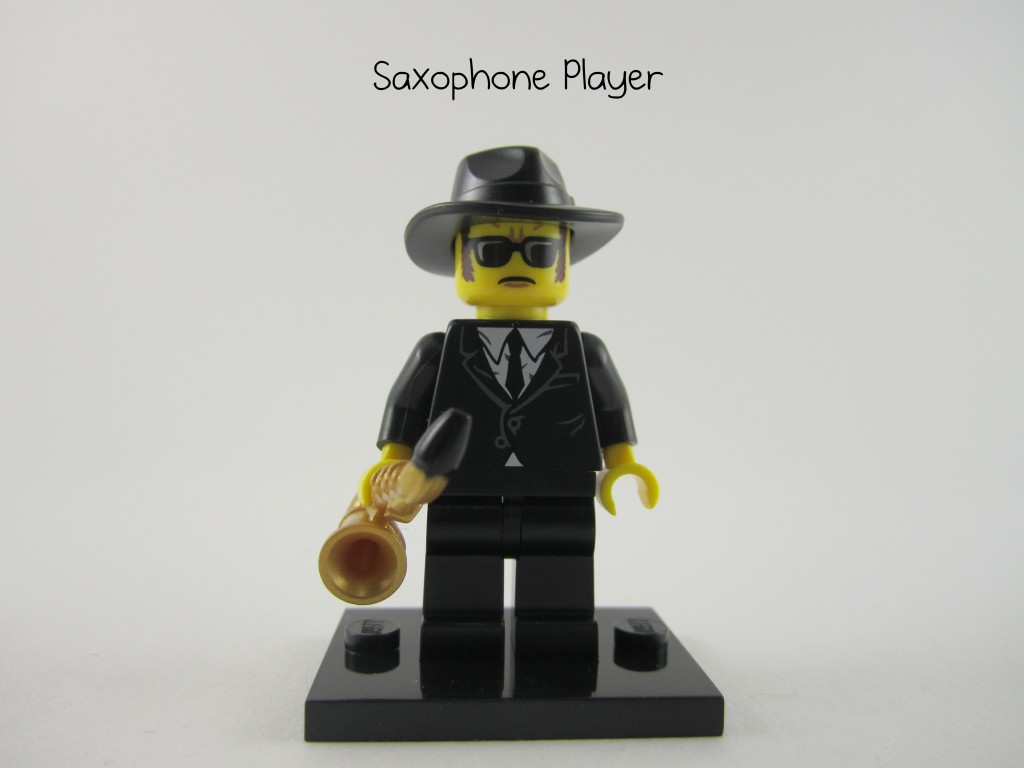 Lego Collectible Minifigures Saxophone Player