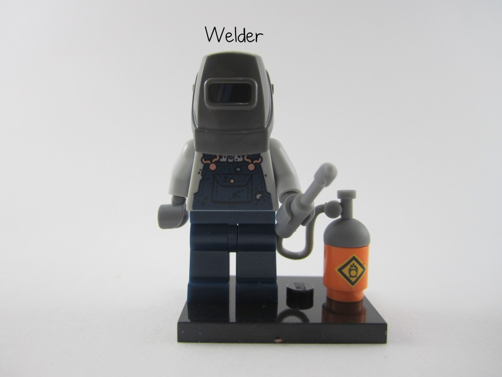 Lego Collectible Minifigures  Welder